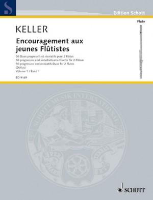 Keller, C: Encouragement for young flautists op. 62 Vol. 1 Product Image