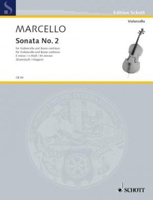 Marcello, B: Sonata II E Minor