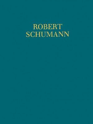 Schumann, R: Studien zur Kontrapunktlehre