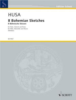 Husa, K: 8 Bohemian Sketches