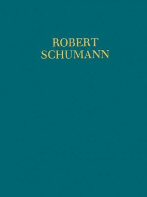 Schumann, R: Works for female choir