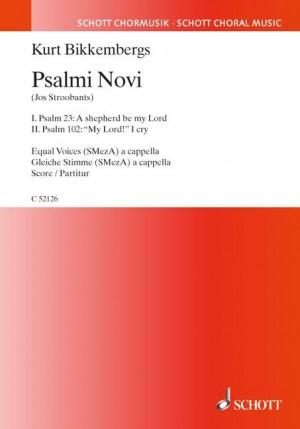 Bikkembergs, K: Psalmi Novi No. 1 + 2