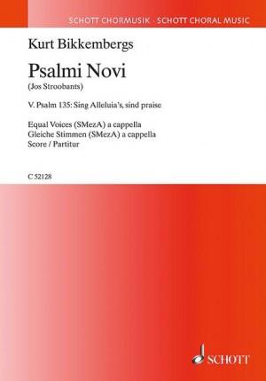 Bikkembergs, K: Psalmi Novi No. 5
