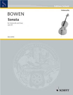 Bowen, Y: Sonata op. 64