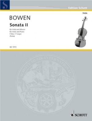 Bowen, Y: Sonata No. 2 F Major
