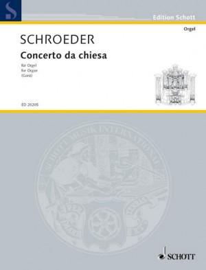 Schroeder, H: Concerto da chiesa
