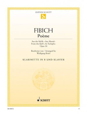 Fibich, Z: Poème op. 39