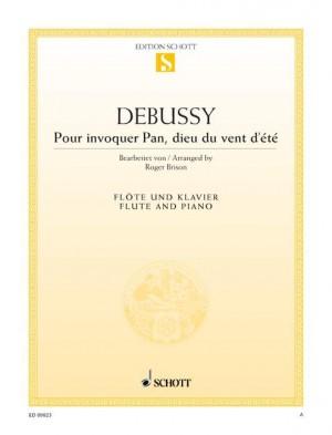 Debussy, C: Pour invoquer Pan, dieu du vent d'été