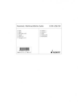 Hummel, B: Christmas Suite op. 13b