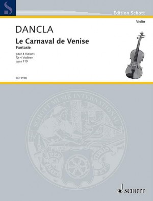 Dancla, C: The Carnival of Venice op. 119