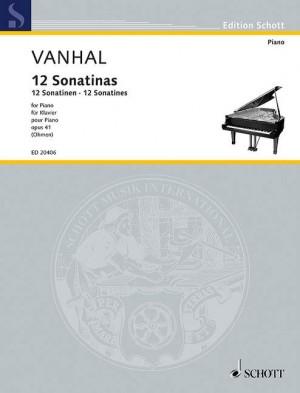 Vanhal, J K: 12 Sonatinas op. 41