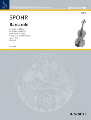 Spohr, L: Barcarole op. 135/1