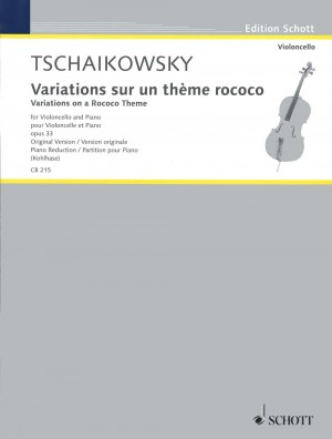 Tchaikovsky: Variations on a Rococo Theme op. 33