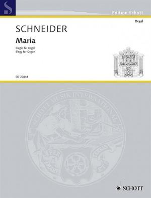 Schneider, E: Maria
