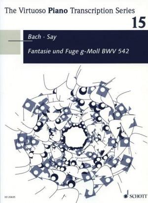 Say, F: Fantasia and Fugue G minor op. 24