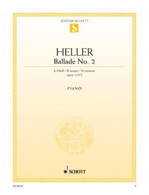 Heller, S: Ballade No. 2 B minor op. 115