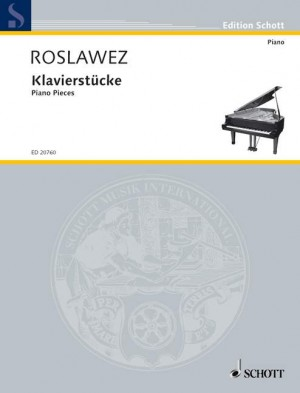 Roslavets, N A: Piano Pieces