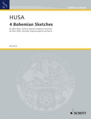 Husa, K: 4 Bohemian Sketches