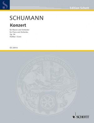 Schumann, R: Concerto A minor op. 54