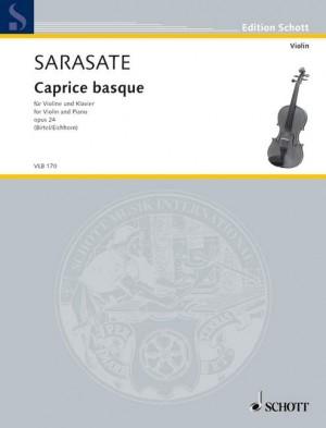Sarasate: Caprice basque op. 24