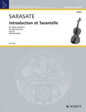 Sarasate: Introduction et Tarantelle op. 43
