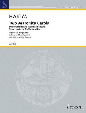 Hakim, N: Two Maronite Carols Product Image