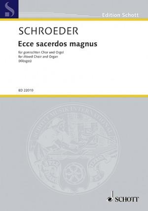 Schroeder, H: Ecce sacerdos magnus