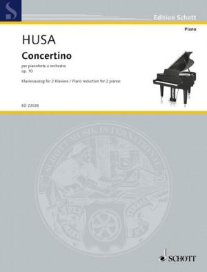 Husa, K: Concertino op. 10