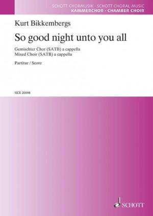Bikkembergs, K: So good night unto you all