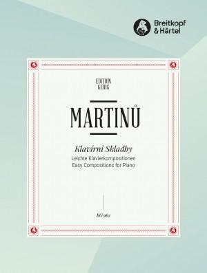Martinu: Leichte Klavierkompositionen