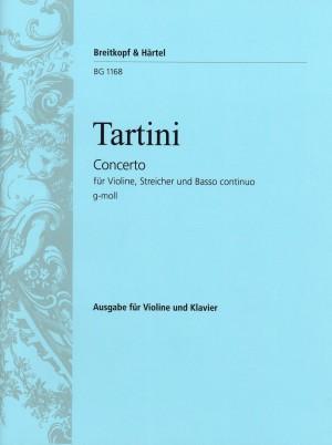 Tartini: Violinkonzert g-moll
