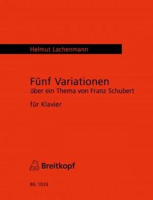 Lachenmann: Fünf Variationen
