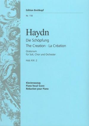 Haydn, J: The Creation Hob XXI:2  Hob XXI:2