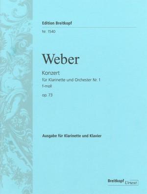 Weber: Clarinet Concerto No. 1 F minor op. 73