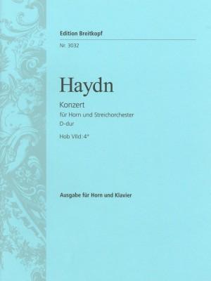 Haydn, J: Horn Concerto No. 2 in D major Hob VIId:4  Hob VIId:4