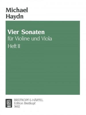 Haydn: 4 Sonaten f. Violine u.Viola 2
