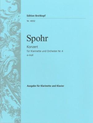 Spohr: Klarinettenkonzert Nr.4 e-moll