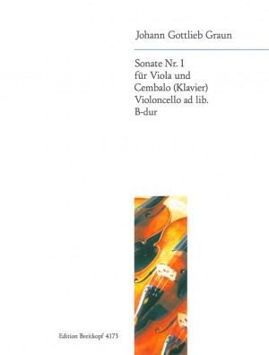 Graun, J G: Sonata No. 1 in Bb major