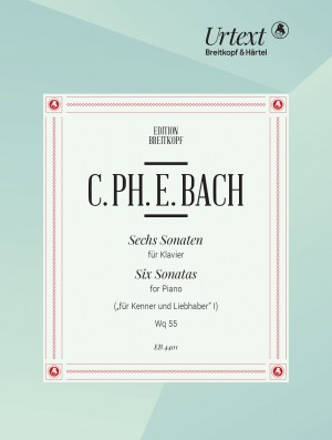 Bach, CPE: Die 6 Sammlungen, Heft 1 Wq 55