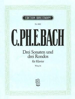 Bach, CPE: Die 6 Sammlungen, Heft 2 Wq 56