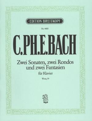 Bach, CPE: Die 6 Sammlungen, Heft 5 Wq 59