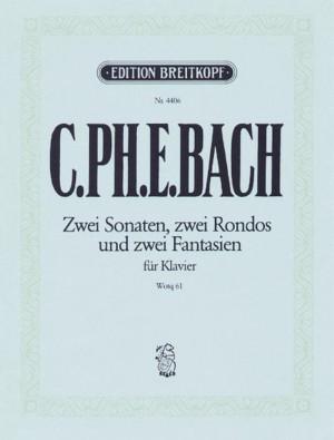Bach, CPE: Die 6 Sammlungen, Heft 6 Wq 61
