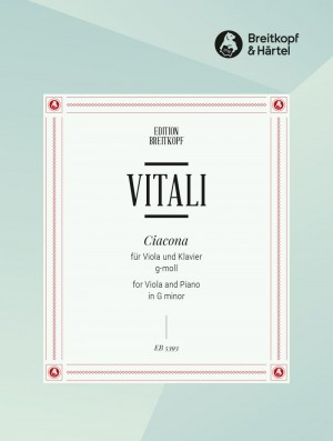 Vitali, T A: Chaconne in G minor