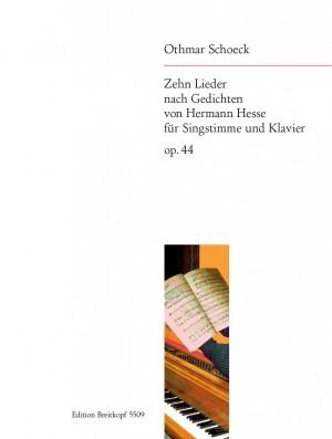 Schoeck: 10 Lieder op. 44