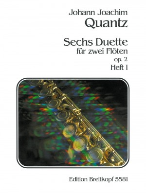 Quantz: Sechs Duette op. 2, Heft I