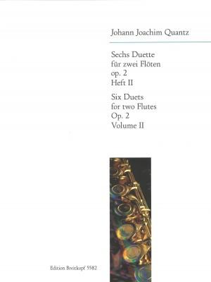 Quantz: Sechs Duette op. 2, Heft II