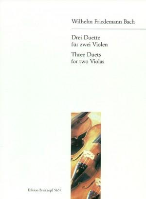 Bach: Drei Duette für Zwei Violen