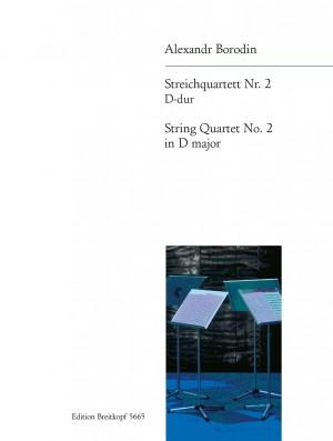 Borodin, A: String Quartet No. 2 in D major