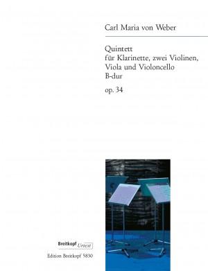Weber: Quintet B flat major op. 34