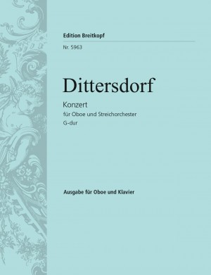 Dittersdorf, K D v: Oboe Concerto in G major